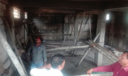Lingadahalli Building Construction Progress